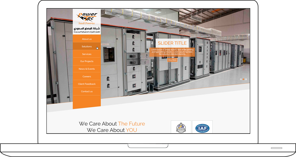 Saudi Powertech Web Design & Development