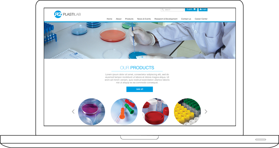 Plasti Lab Web Design & Development