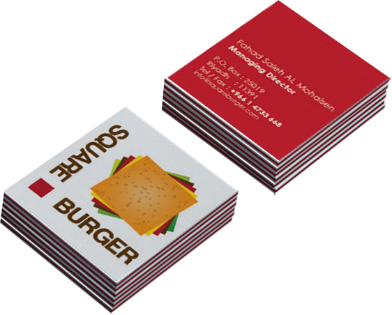 Burger Square Branding